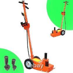 06156 Air Hydraulic 22ton Low Profile Lift Jack Truck Trolley Garage Floor