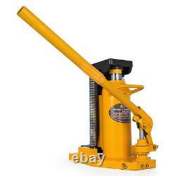 10 Ton Hydraulic Toe Jack Machine Lift Cylinder Equipment Welded Steel Machinery