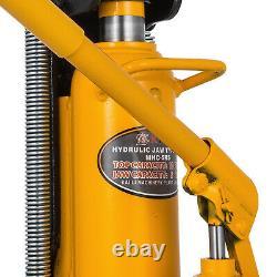 10 Ton Hydraulic Toe Jack Machine Lift Cylinder Industrial Proprietary Repair