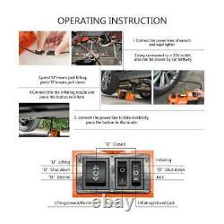 12V 5Ton Multi functional Auto Electric Hydraulic Jack Car Lift Tire Repair Tool