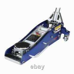 1.5 Ton Low Profile Compact Aluminum Racing Floor Jack Rapid Pump Lift Car Auto