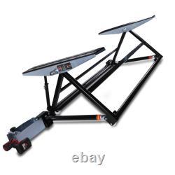1.5t 1.5 Ton 1500kg Mobile Home Garage Scissor Tilting Car Lift Ramp Hoist Jack