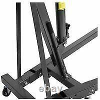 1 Ton Folding Engine Hoist Crane Stand lift Jack Hydraulic Folding FREE DELIVERY