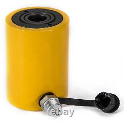 20Ton 2 Stroke Hollow Hydraulic Cylinder Jack Straightening Lift Cylinder Metal