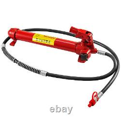20Ton Porta Power Hydraulic Jack Body Frame Repair Kit 2M Lengthen Hose Lift Ram