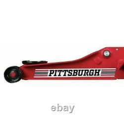 2 Ton Car Low Profile Floor Jack Rapid Pump Garage Shop Auto Lifting Cars NEW