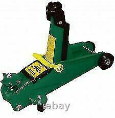 2 Ton Hydraulic Trolley Jack lifting range 135-330mm, swivel castors