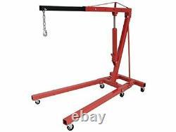 2 Ton Tonne Engine Crane Stand Hoist Lift Jack Hydraulic Folding Adjustable