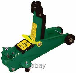 2 Ton Trolley Car Wheel Jack Wind Up Lifting Hydraulic Floor Garage High