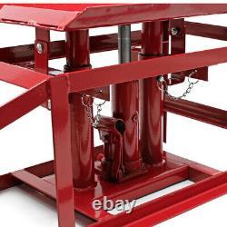 2x Car Ramps Lift Lifting Hydraulic Jack 2 Ton Heavy Duty Workshop Garage 2000kg