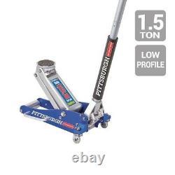 3000lbs Low Profile Aluminum Floor Jack 1.5 Ton Lift Capacity Rapid Pump Car NEW