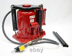 32 Ton Air Hydraulic Bottle Jack Dual Operation Car Automotive Lift Stand