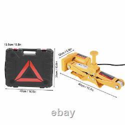 3 Ton 12V Car Electric-Jack Floor Lift Scissor Jacks Impact Wrench Repair Kit