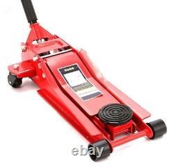 3 Ton 70mm Ultra Low Profile Entry Trolley Jack High Lift Garage