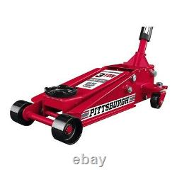 3 Ton Car Heavy Duty Floor Jack Rapid Pump Garage Shop Auto Lifting Auto