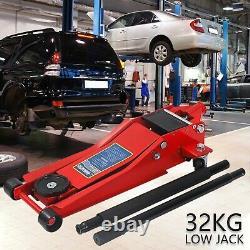 3 Ton Hydraulic Floor Trolley Jack Tonne Lifting Car Van SUV Garage Heavy Duty