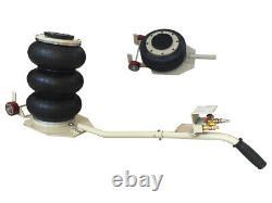 3 Tons Triple Bag Air Jack Vehicle Jack HeavyDuty Pneumatic Jack for Car Lifting