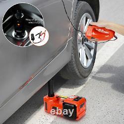 5Ton Electric Trolley Floor Jack Axle Floor Stand Car Van Garage Lift Tool 12V