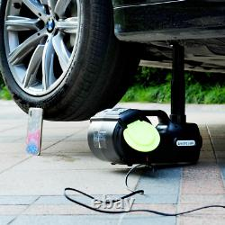 5 Ton 4 in 1 Automotive Electric Car Jack Portable Tire Repair 12V Lift Wrench