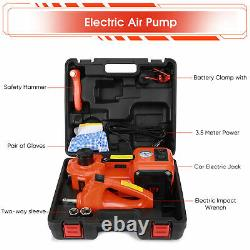 5 Ton 5T Car Electric Hydraulic Jack Floor Lift Repair Tool 12V Car SUV Tyre