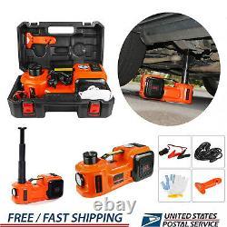 5 Ton Automotive Car Electric Hydraulic Floor Jack Lift 12V DC Auto Repair Tools