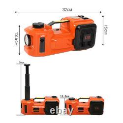5 Ton Car Jack Electric Hydraulic Floor Jack Lift 45CM WITH Tire Inflator Pump