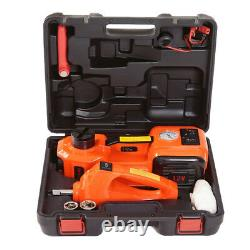 5 Ton Car Jack Lift 12V Electric Hydraulic Floor Jack with Impact Wrench Set