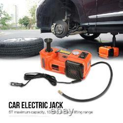 5 Ton Car Lift 12V DC Automotive Electric Jack Lifting Emergency Help Equipment