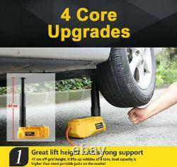 6Ton Car Electric Jacks 12V DC Electric Hydraulic Lift Floor Jack For SUV Truck