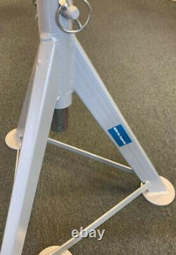 Ame 14985 Jack Stands, 1 Pair, 3 Ton Lift Capacity Per Stand, 33w486, New