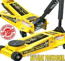 Autojack Low Profile Professional 3 Ton Garage Trolley Jack Hydraulic Rapid Lift