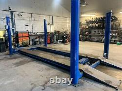 Automotech 4 post Car lift 4 ton / ramp with hydraulic jack
