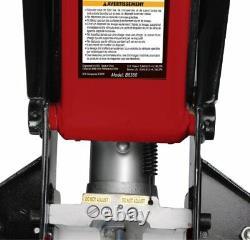 Blackhawk B6350 Black/Red Fast Lift Service Jack 3.5 Ton Capacity