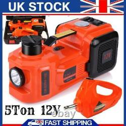 Car SUV 5Ton Electric Hydraulic Jack Floor Lift with Impact Wrench
