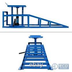 Car ramp lift hydraulic lifting jack device garage ramp 2 ton heavy duty left