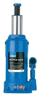 Draper 13117 10 Ton Quick Lift Hydraulic Bottle Jack Garage Mechanic Workshop