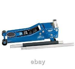 Draper 61829 Trolley Jack 2.0 Ton Tonnes Low Profile Quick Lift Garage Workshop