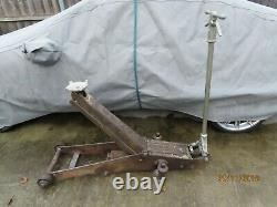 EPCO N0.35 Deluxe 2 1/2 TONS HIGH LIFT TROLLEY JACK (Circa 1938)