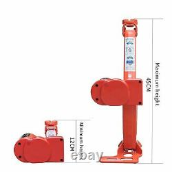 Electric Car Floor Jack 5 Ton All-in-one Automatic 12V Scissor Lift Jack Set