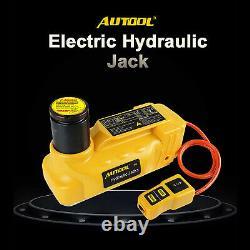 Electric Hydraulic Car Jack Lift 12V 6 Ton Floor Jack SUV Truck Tire Repair Tool