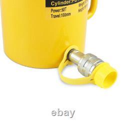 FCY-50 50 Tons 4 Single Acting Hydraulic Cylinder lifting Jack Cylinder