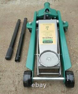 HUAQI 3Ton Heavy Duty Hydraulic Trolley Floor Jack Car Caravan Van 4x4 Lifting