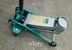 HUAQI Professional 3 TON Hydraulic Trolley Jack Compact Car Garage Lifting Gear