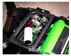 Heavy Duty Floor Jack 3 Ton Tonne Rocket Lift Low entry Magnetic Tray Green