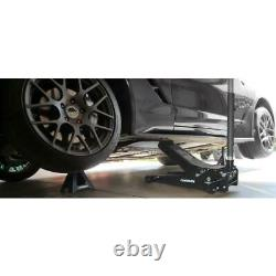 Husky 3-Ton Floor Jack Low Profile with Speedy Lift Dual Pump Wheels Sturdy Steel