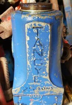 Hydra Lite Tangye Hydraulic Jack 25 ton toe Machine Machinery Lifting Jack