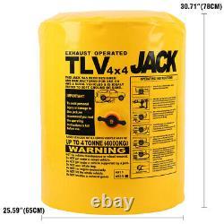 Inflatable Car Vehicle Jack 4T 8800LBS Ton Tonne Exhaust Air Jack Bag Lifting