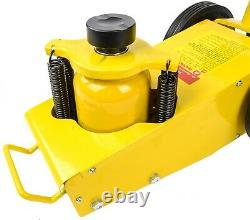 JEGS 79022 Air Over Hydraulic Floor Jack 22-Ton Capacity 9 in. To 17 in. Lift