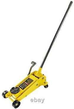 JEGS 80106 Quick Lift Floor Jack 3 1/2 Ton Capacity 5 1/2 in. Min. Height 20 in