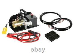 Kwik Lift Quick Jack Scissor Lift Portable 2.5 Ton DC12V E4G KL2500DC12V